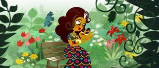Carmen and babyManolo