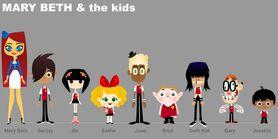 Concept Art - Kids