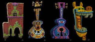 Book of Life Concept Art - Land of the Remembered (10)