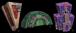Book of Life Concept Art - Land of the Remembered (11)