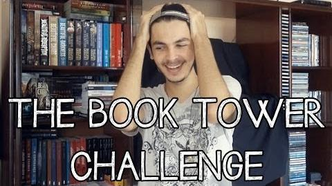 THE BOOK TOWER CHALLENGE (Desafio da Torre de Livros)