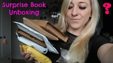 Surprise Book Unboxing