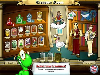 Bookworm treasure room