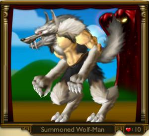 Summoned Wolf-Man