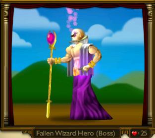 Fallen Wizard Hero
