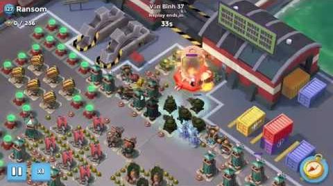 Valkyrie Will Solo Ransom with SZ Choke Point Boom Beach (1