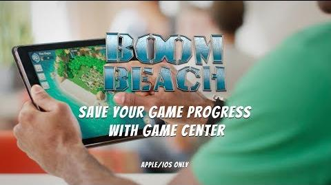 Boom Beach Save your Progress with Game Center (iOS)
