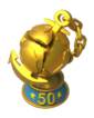 Warship Top 50 Trophy