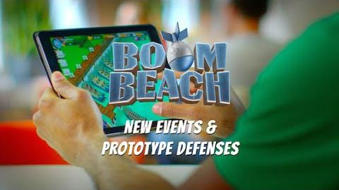 Boom Beach New Events & Prototype Defenses