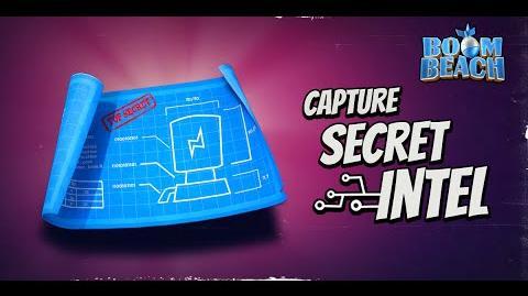 How to collect intel in Boom Beach! - Sneak Peek 2!