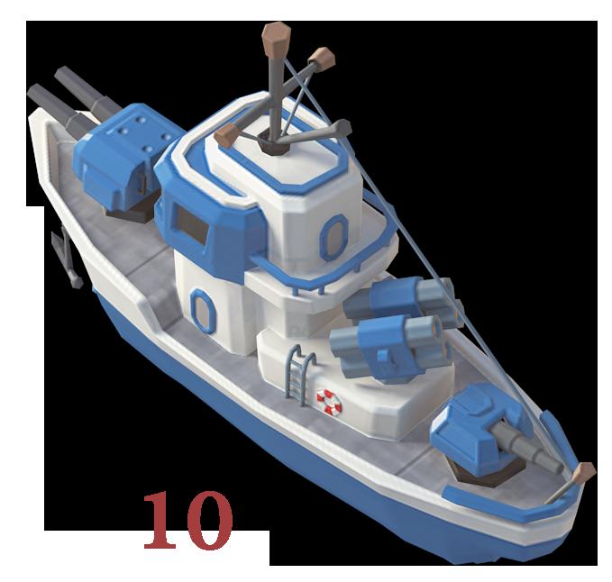 boom beach ship