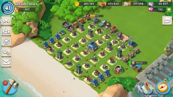 Boom Beach Level 41 HQ 17
