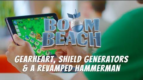 Boom Beach Colonel Gearheart, Shield Generators & Lt
