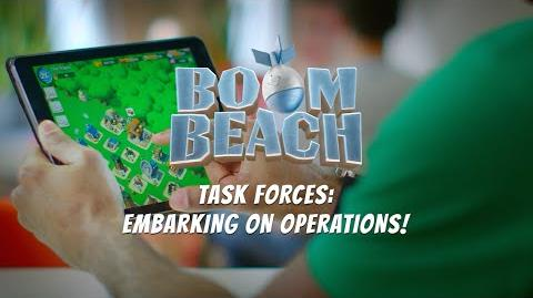 Boom Beach Embarking on Operations with your Task Force!