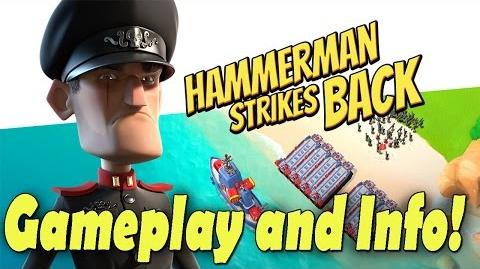 "Boom Beach New Event! ""Hammerman Strikes Back"" Gameplay Boom Beach Update Bonus Sneak Peek 2"