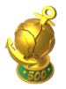 Warship Top 500 Trophy