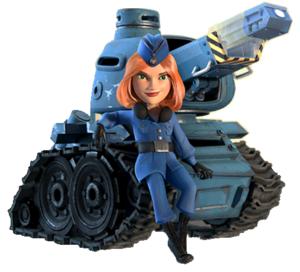 Miniroboter-Kanone