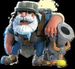 Cryobombardier