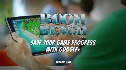 Boom Beach Save your Progress with Google (Android)