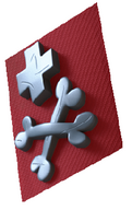 Schwarze Garde Terror Symbol