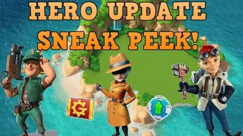 BOOM BEACH - HERO UPDATE SNEAK PEEK!