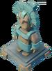 Statue Ice Guardian