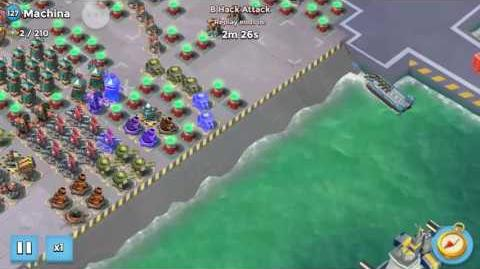 Boom Beach Machina Takedown!!!