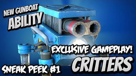 Boom Beach Update - Gunboat Ability Critters - Bonus Sneak Peek 1 Critters Gameplay!