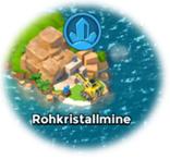 Symbol Rohkristallmine