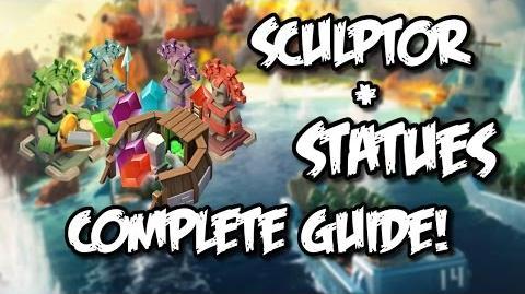 Boom Beach - Complete Statue Guide! Sculptor, Masterpiece Tips & Tutorial for Boom Beach!