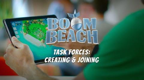 Boom Beach Creating & Joining a Task Force