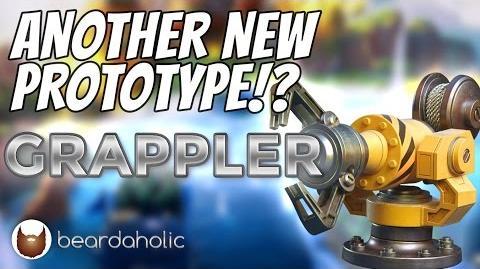 GRAPPLER Sneak Peek at the New Boom Beach Prototype Weapon!