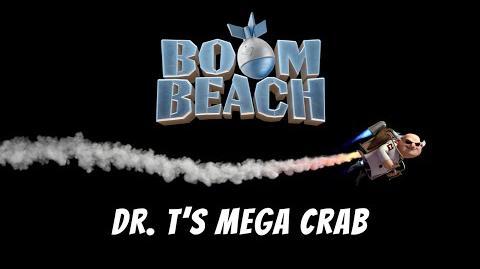 Boom Beach Dr. T's Mega Crab Tutorial