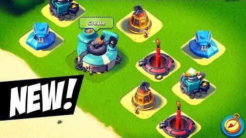 Boom Beach Prototype Defenses Gameplay! NEW WEAPONS LAB Sneak Peek!
