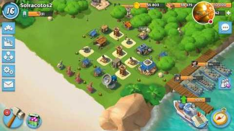 Hammerman 's HQ LVL 25 How to Destroy Boss Bases Boom Beach