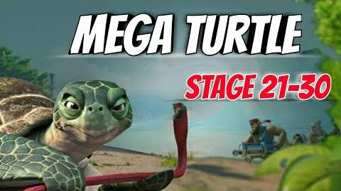 Boom Beach-Mega Turtle Here!-Stage 21-30 GBE Ability