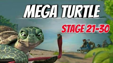 Boom Beach-Mega Turtle Here!-Stage 21-30 GBE Ability