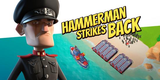 Hammerman greift an