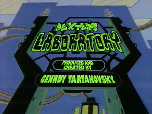 Dexter's Laboratory Title Card
