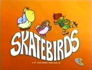 Hanna-Barbera Skatebirds Title Card 1977-500x379