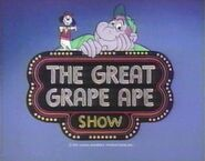 The Great Grape Ape Show card