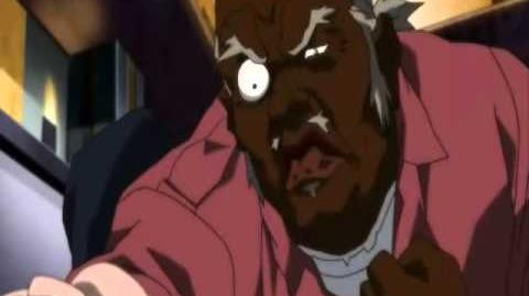Uncle Ruckus interrogates Dan Stuckey