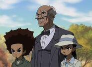 Huey, Riley, and Granddad