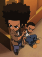 The Boondocks Huey and Riley