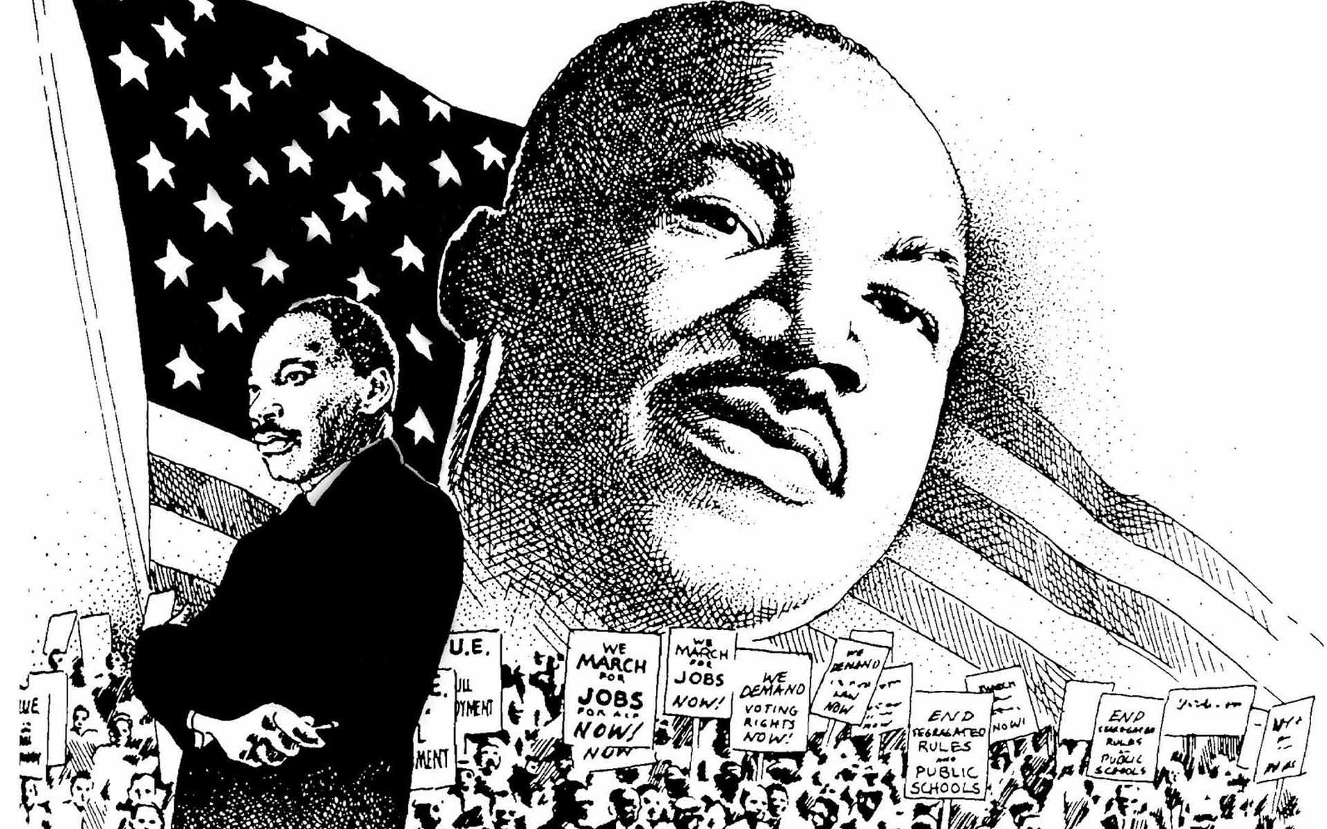 Martin Luther King Day To Drawing