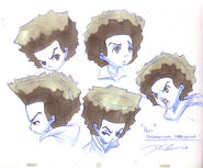 Boondocks Huey Expressions by davidsdoodles