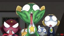 Sgt. Frog (Khmer Game Boy Advance Bootleg, Game Over Screen) (Fake Screenshot)