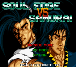 Soul Edge vs Samurai