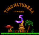 The Lion King V: Timon & Pumbaa