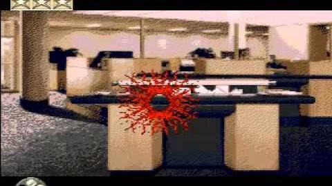 Counter strike for Mega Drive (demo mode)